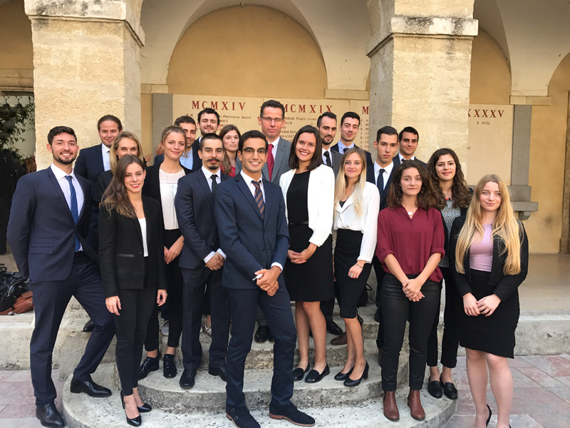 Promotion Droit du Commerce International 2017-2018