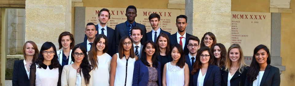 Promotion Master Droit du Commerce International 2014-2015