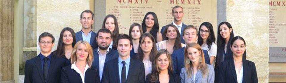 Promotion Master 2 Droit des Contrats d'Affaires 2014-2015